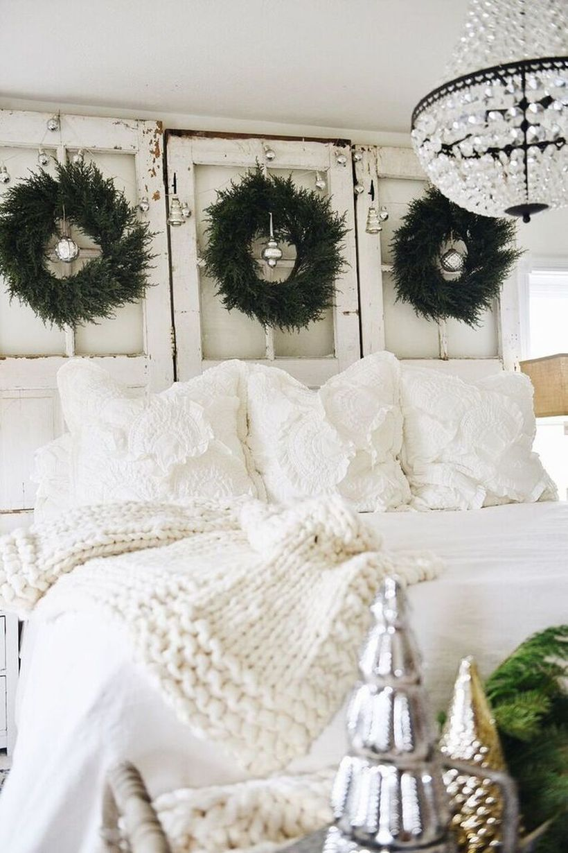 32 White Winter Bedroom Decorations