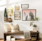 21 Ideas to Create Boho Entryway Decoration