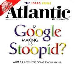"Is Google Making Us Stupid?"" and how much of this will you read?"