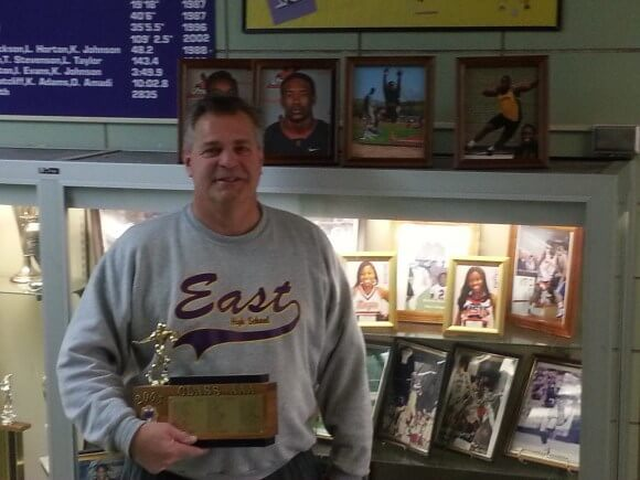 East's Coach Brigandi proved the value of sports extends beyond the playing fields
