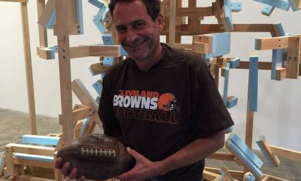 Art and a fumbled football merge at Rochester Contemporary