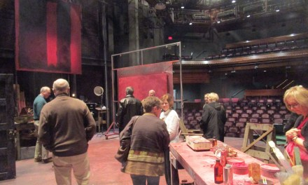 "Seeing Red. Did we violate ""sacred space"" backstage at GeVa?"
