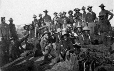 "African American ""Buffalo Soldiers"" in Cuba, 1898"
