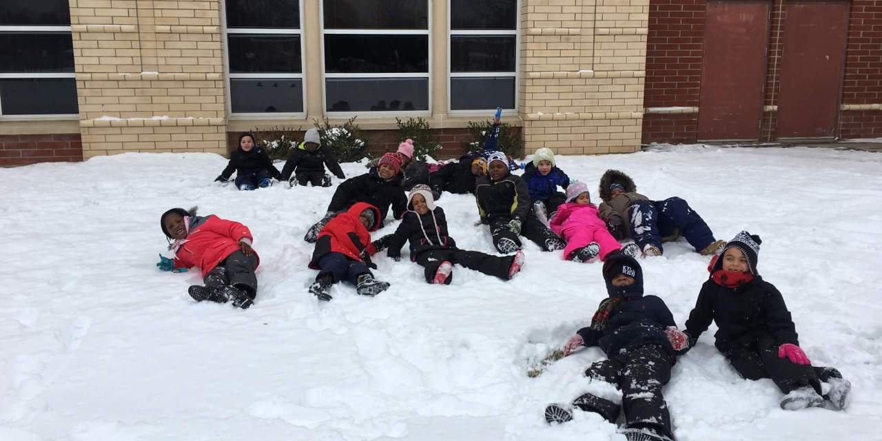 Warm snow pants make happy students at the Wilson Foundation Academy. With help from Brand Integrity
