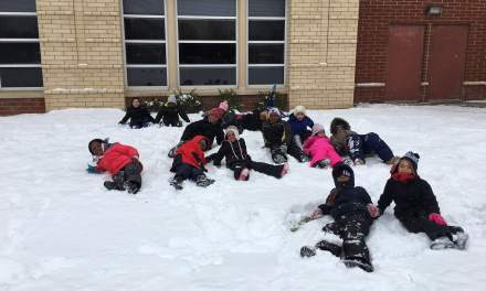 Warm snow pants make happy students at the Wilson Foundation Academy With help from Brand Integrity