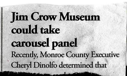 The City spreads the word about the Jim Crow Museum's offer. Before it's too late.