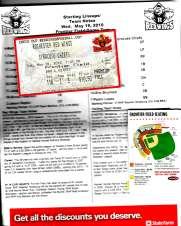 strassburg ticket