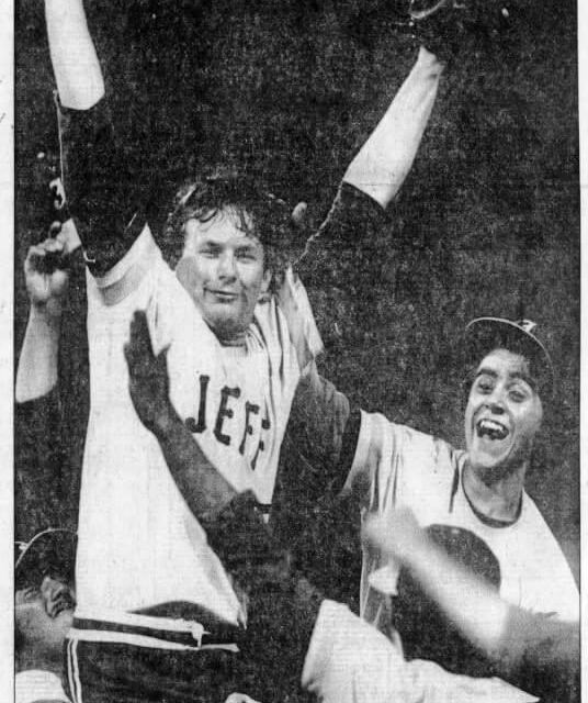 Congratulations East on a magical season. So Jefferson and Rocky DiPonzio's 1980 mark still stands.