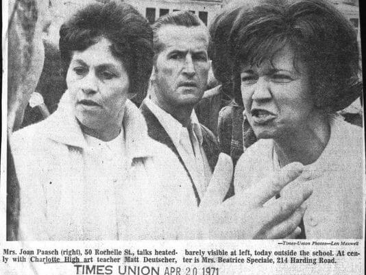 45 years ago when President Nixon visited Rochester. 3 days later East High School erupted in racial violence
