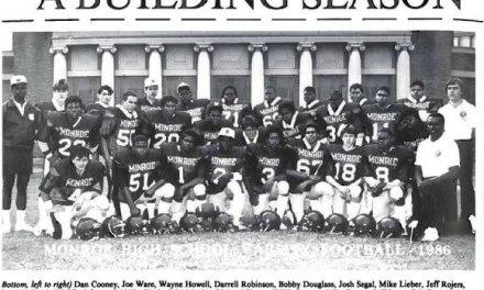 Varsity football returning to Monroe after 30 year hiatus. And when Bob Matthews covered the 1970 championship season