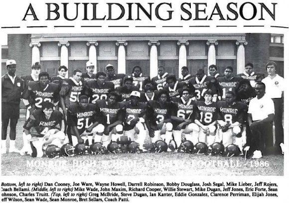 Varsity football returning to Monroe after 30 year hiatus. And when Bob Matthews covered the 1970 championship season