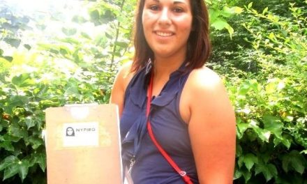 Emily Sargent's summer with NYPIRG: Saving the earth by killing turf
