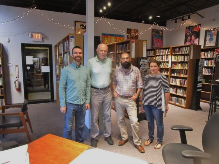 Rochester boasts one of the largest LGBTQ libraries in the nation.