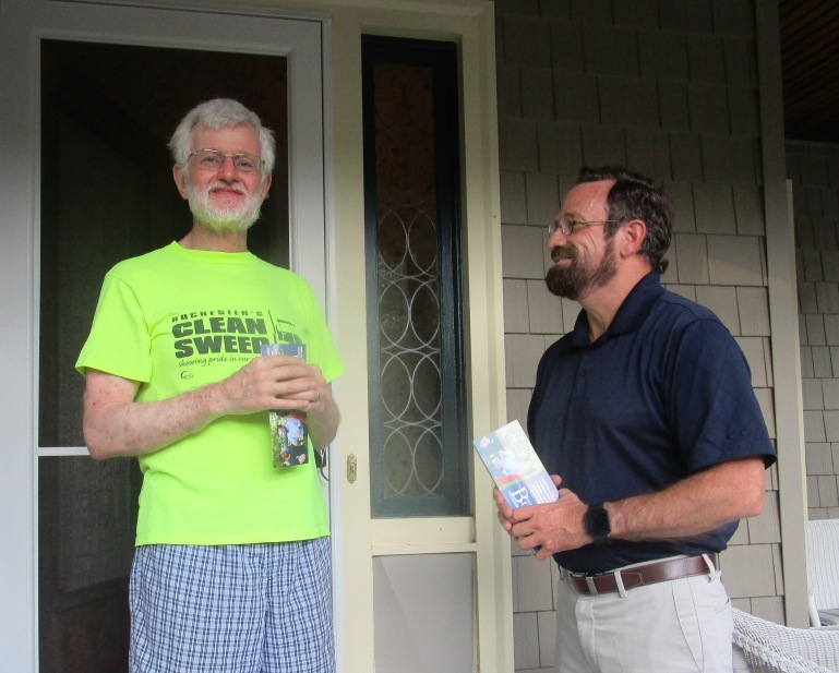 On the electoral road with Harry Bronson
