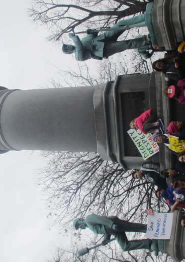 Rally pic 4 monument