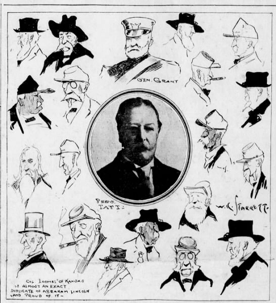 When President Taft spoke at Convention Hall on August 23rd, 1911
