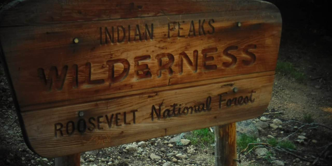 """George returns from Colorado with """"Indian Peaks"""""""