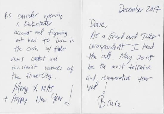 Bruce's card new