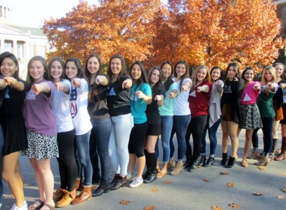 The UR's Kappa Alpha Theta sorority wants you to submit to Talker!