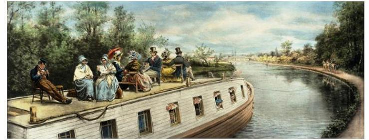 Erie Canal Packet boat
