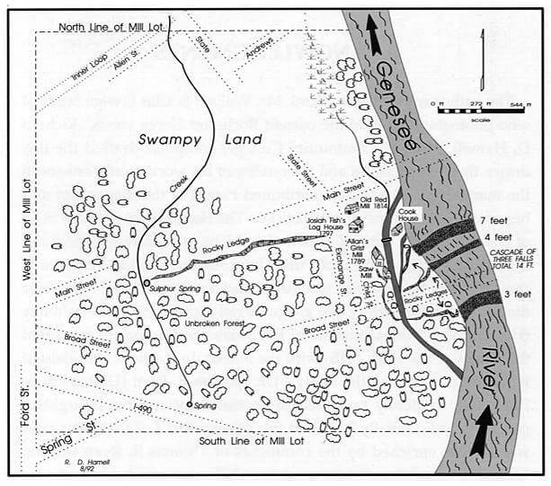 Rochester's 100 Acre Tract