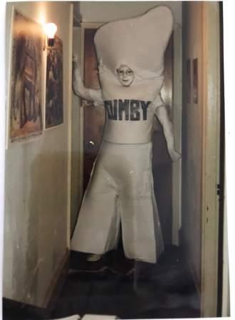 The hallway in question Halloween 1988