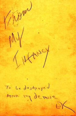 Eugene's 1990 response to his collegiate work.