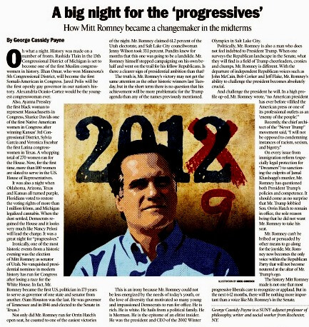 Washington Times, November 12th, 2018, page 12