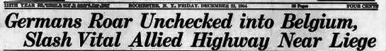 Democrat and Chronicle, Dec 22, 1944