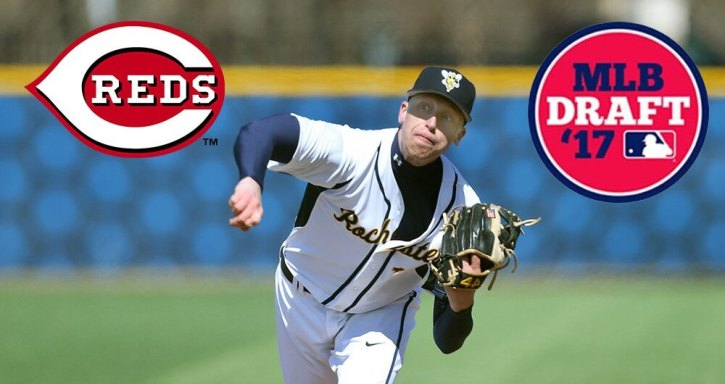 John Ghyzel selected by Reds in 2017 Major League Draft (Univeristy of Rocheste Athetics). According to redlegsbaseball.com, Ghyzel signed for @83,000.