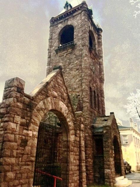 Original remains of the Corn Hill Methodist Church