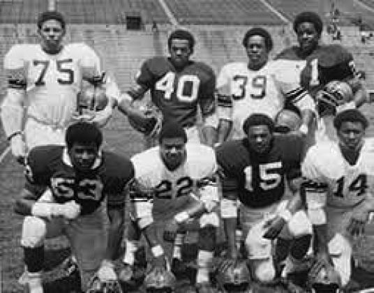Allen, Bulls, Godbolt, Harrell, Lobon, McGill, Muhammad, Walker, and Womack (Syracuse University Libraries)