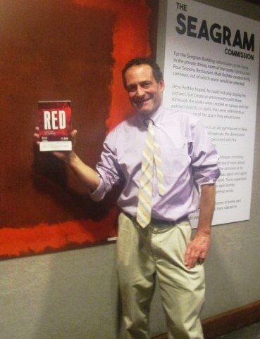 "From Seeing Red. Did we violate ""sacred space"" backstage at GEVA?"