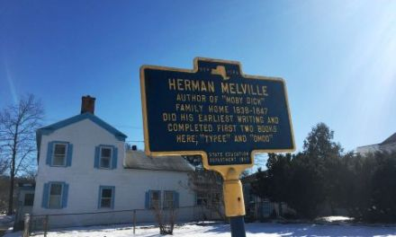 Melville's Mighty Theme: A Visit to Herman Melville's Home in Lansingburg, NY.