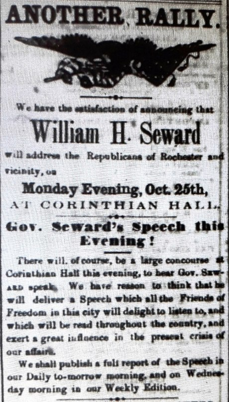 Rochester Daily Democrat - Oct. 25, 1858