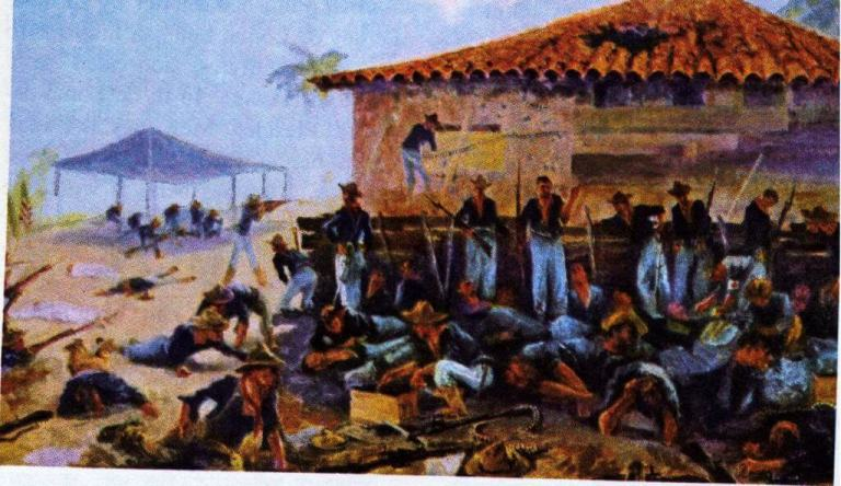 American troops atop San Juan Hill [Painting by Charles Johnson Post]