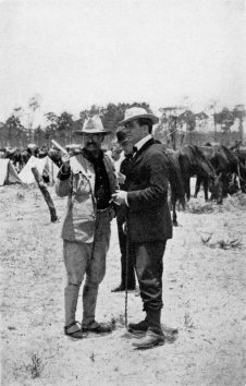 Roosevelt and Davis in Cuba. Davis considered the model for illustrator Charles Dana Gibson's dashing Gibson man, the male equivalent of his famous Gibson Girl