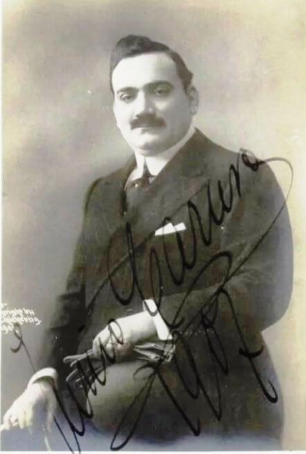 Enrico Caruso - 1907