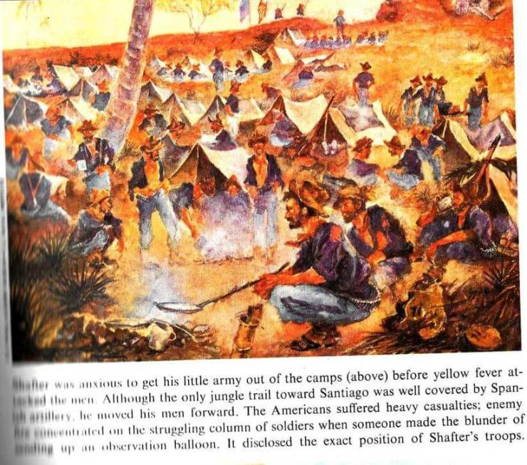 Painting: Charles Johnson Post from American Heritage Illustrated