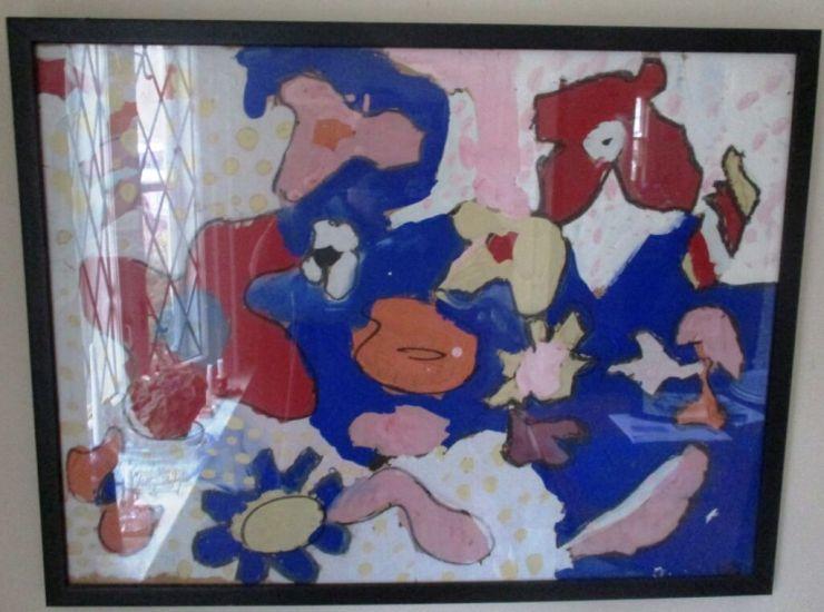 by Leslie Kramer in her childhood.