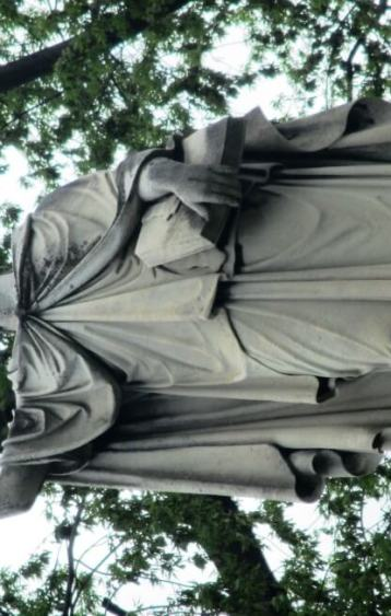 robed woman