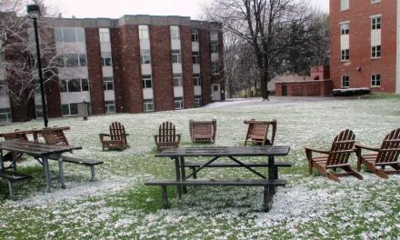 An eerie quiet at Nazareth College