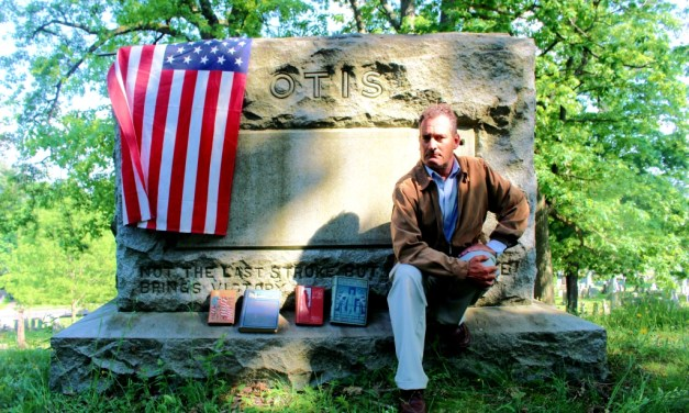 Celebrating the 120th Otis Day and finding the site of the General's farmhouse in Gates