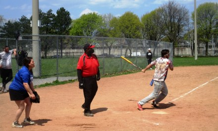 The umpires are back in business at Cobb's Hill