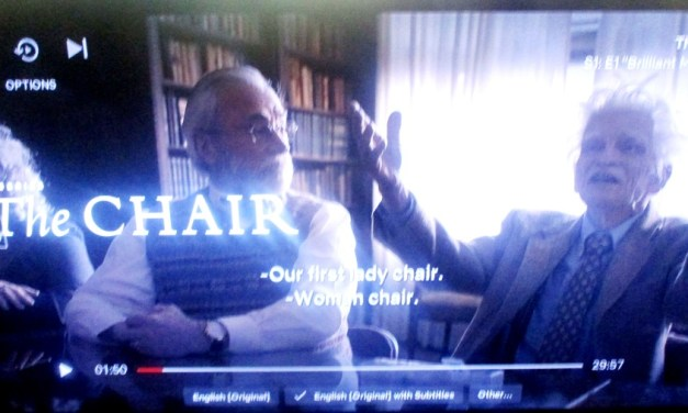The Academic Anachronism That Is Netflix' The Chair from Professor John Roche