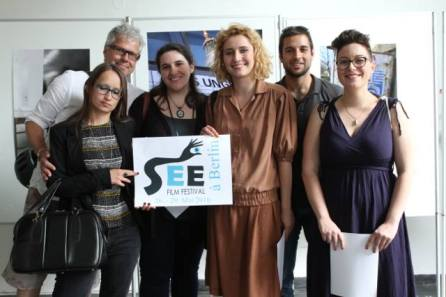 The international young jury at SEEFF Berlin