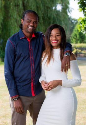 Kanu and his wife