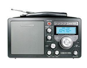 Grundig/Eton S350 AM/FM/Shortwave Field Radio with Alarm Clock
