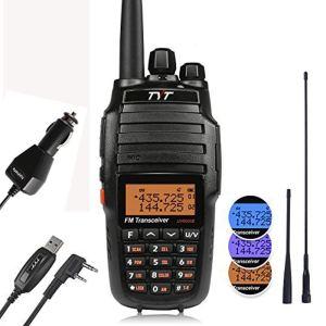TYT UV8000E 10W haute puissance double bande VHF UHF radio bidirectionnelle talkie-walkie jambon
