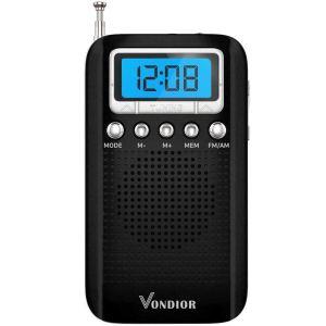 Radio de poche portable AM FM numérique